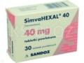 SimvaHexal 40 interakcje ulotka tabletki powlekane 0,04 g 30 tabl.