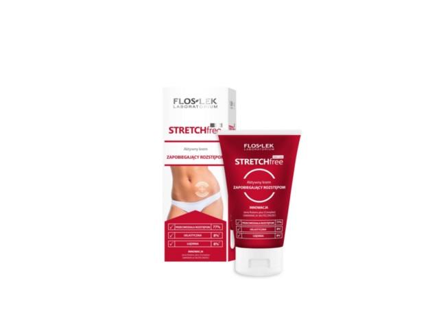 SLIM LINE Aktywny krem zapobiegający rozstępom stretch-free interakcje ulotka   150 ml