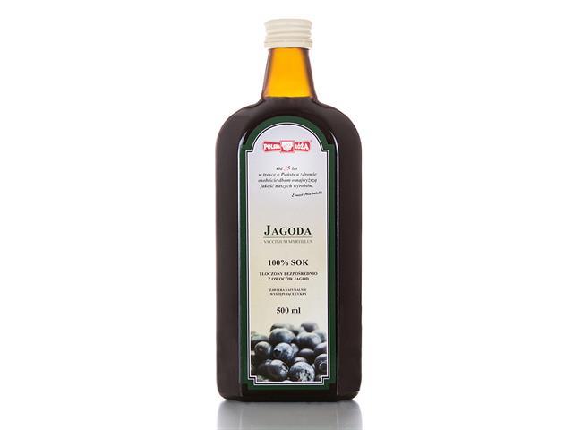 Sok Polska Róża jagoda bez cukru interakcje ulotka   500 ml