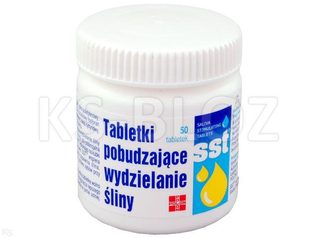 SST Tabl.pobudzające wydzielanie śliny interakcje ulotka tabletki  50 tabl.