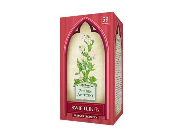 Świetlik fix interakcje ulotka zioła do zaparzania w saszetkach 2 g 30 toreb.