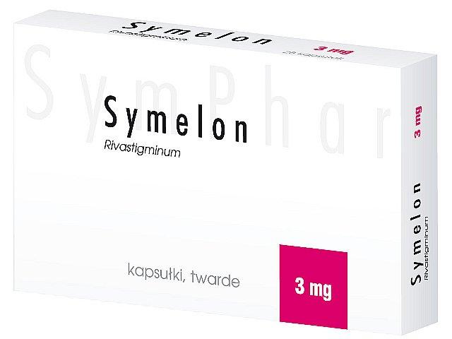 Symelon interakcje ulotka kapsułki twarde 3 mg 28 kaps.