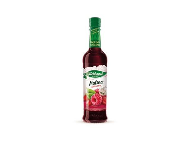 Syrop malina z dziką różą - suplement diety interakcje ulotka   420 ml