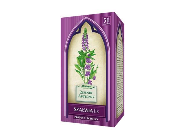 Szałwia fix interakcje ulotka zioła do zaparzania w saszetkach 1,2 g 30 toreb.