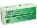 Tabex interakcje ulotka tabletki powlekane 1,5 mg 100 tabl.