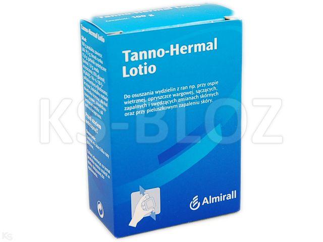 TANNO-HERMAL Lotio interakcje ulotka płyn  100 g
