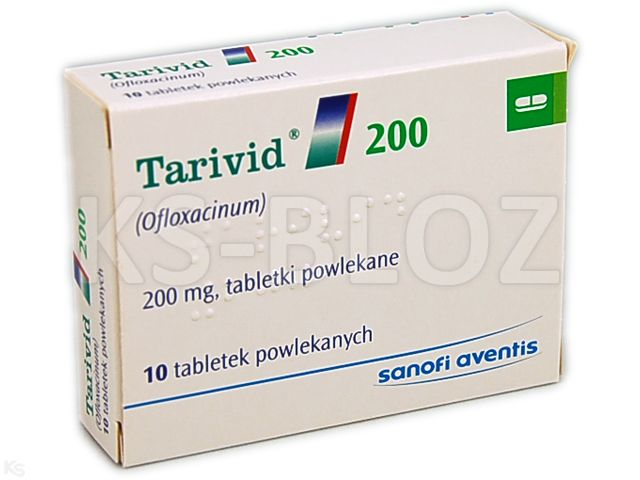 Tarivid 200 interakcje ulotka tabletki powlekane 0,2 g 10 tabl.