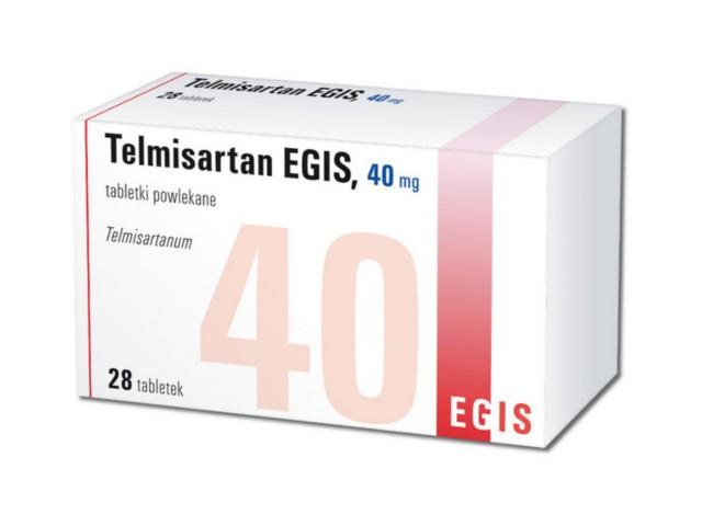 Telmisartan EGIS interakcje ulotka tabletki powlekane 0,04 g 28 tabl.