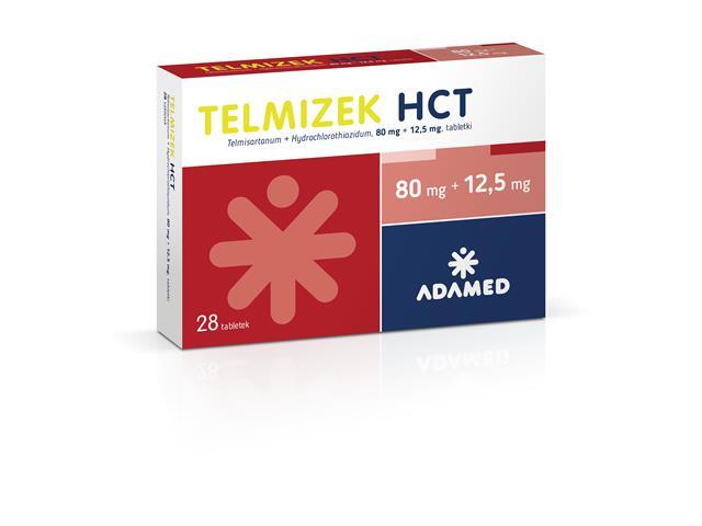 Telmizek HCT (Telmizek Combi) interakcje ulotka tabletki 0,08g+0,0125g 28 tabl.