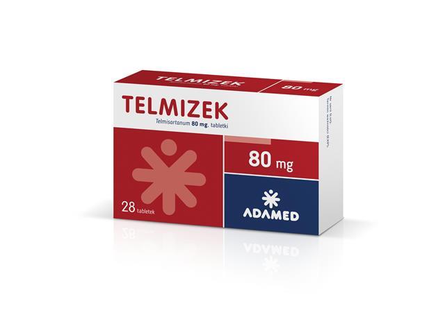 Telmizek interakcje ulotka tabletki 0,08 g 28 tabl.