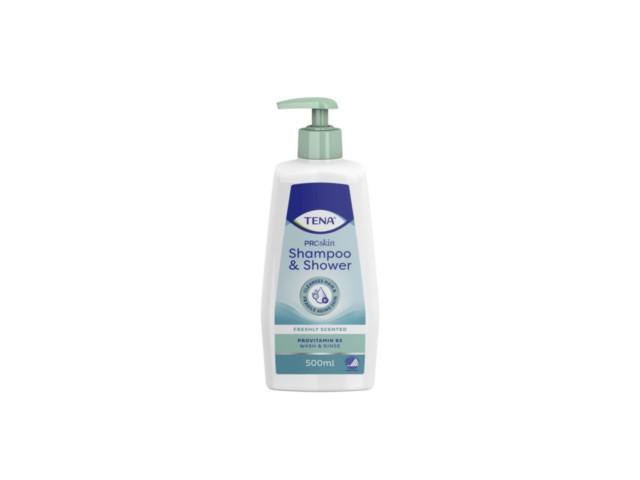 TENA Shower & Shampoo Żel d/mycia i szampon interakcje ulotka   500 ml