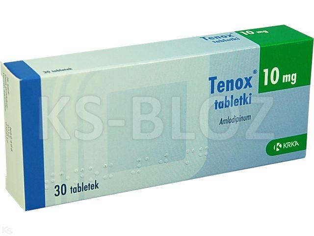 Tenox interakcje ulotka tabletki 0,01 g 30 tabl. | 3 blist.po 10 szt.