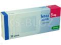 Tenox interakcje ulotka tabletki 5 mg 30 tabl.