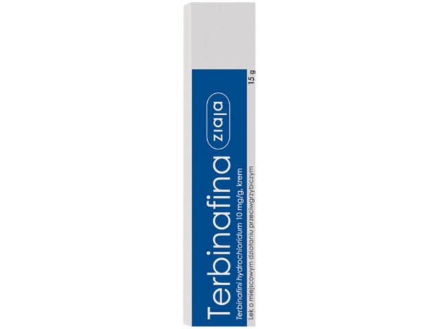 Terbinafina Ziaja interakcje ulotka krem 0,01 g/g 15 g