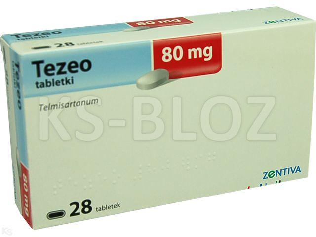 Tezeo interakcje ulotka tabletki 0,08 g 28 tabl.