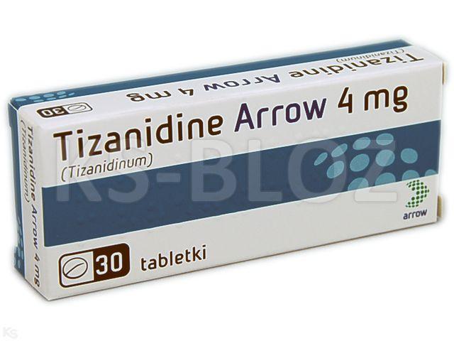 Tizanidine 4mg