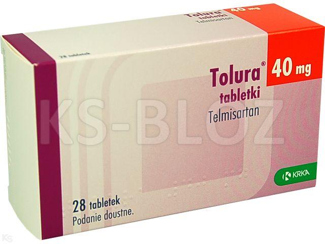 Tolura interakcje ulotka tabletki 0,04 g 28 tabl.