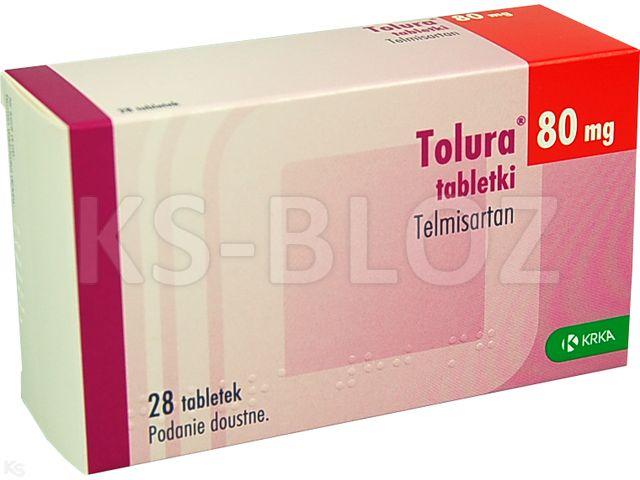 Tolura interakcje ulotka tabletki 0,08 g 28 tabl.