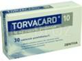 Torvacard 10 interakcje ulotka tabletki powlekane 0,01 g 30 tabl.