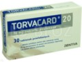 Torvacard 20 interakcje ulotka tabletki powlekane 0,02 g 30 tabl.