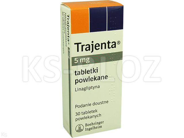 Trajenta interakcje ulotka tabletki powlekane 5 mg 30 tabl.