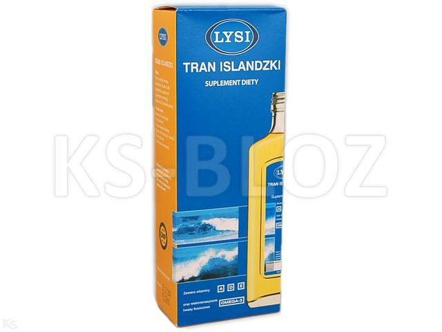 Tran Islandzki LYSI natural. interakcje ulotka płyn doustny  240 ml