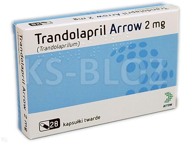 Trandolapril Actavis (Trandolapril Arrow) interakcje ulotka kapsułki twarde 2 mg 28 kaps.