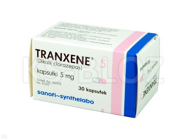 Tranxene 5 interakcje ulotka kapsułki 5 mg 30 kaps.