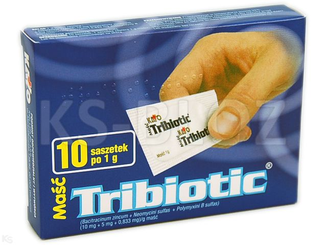 Tribiotic interakcje ulotka maść (5mg+5000j.m.+400j.m.)/g 10 sasz. po 1 g