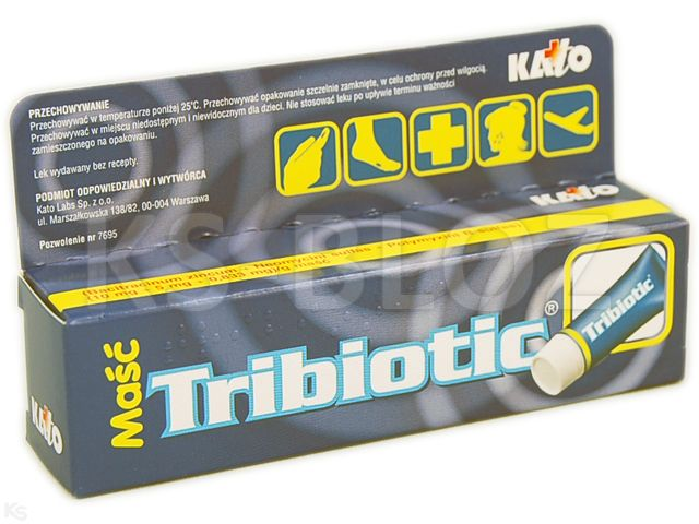 Tribiotic interakcje ulotka maść (5mg+5000j.m.+400j.m.)/g 14 g