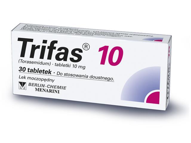 Trifas 10 interakcje ulotka tabletki 0,01 g 30 tabl.