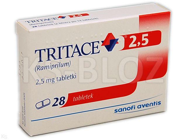 Tritace 2,5 interakcje ulotka tabletki 2,5 mg 28 tabl.
