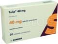 Tulip 40 mg interakcje ulotka tabletki powlekane 0,04 g 30 tabl.