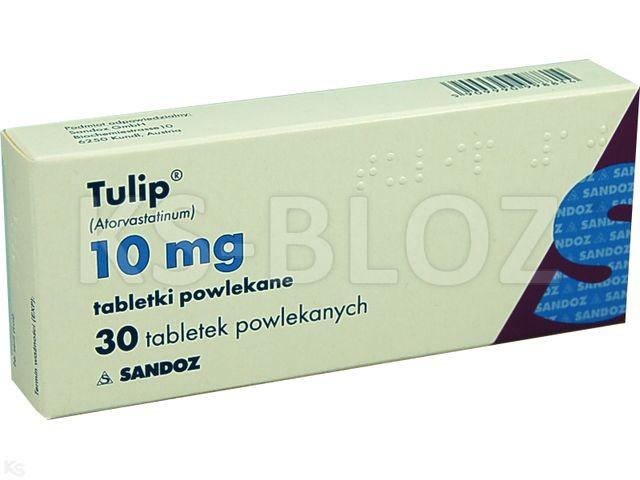Tulip interakcje ulotka tabletki powlekane 0,01 g 30 tabl.