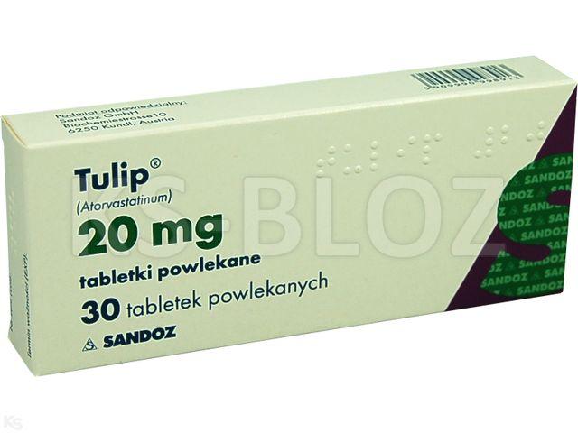Tulip interakcje ulotka tabletki powlekane 0,02 g 30 tabl.