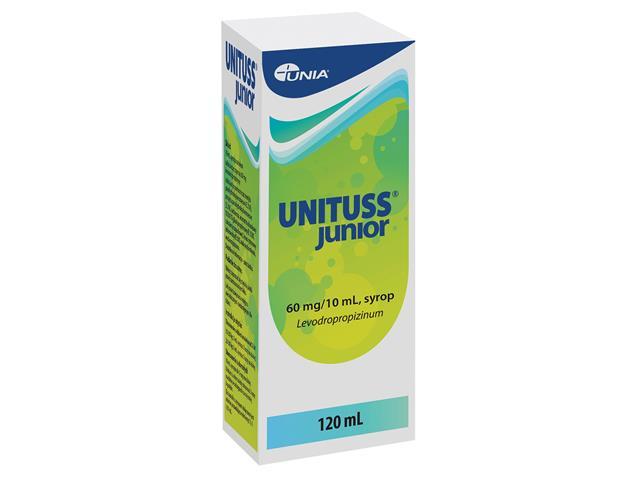 Unituss Junior interakcje ulotka syrop 0,06 g/10ml 120 ml