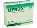 Uprox interakcje ulotka kapsułki o zmodyfikowanym uwalnianiu twarde 0,4 mg 30 kaps.