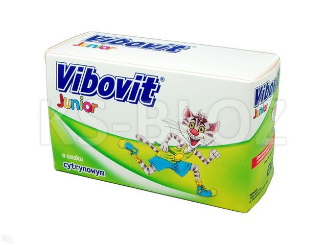 Vibovit Junior cytrynowy interakcje ulotka proszek do sporządzania roztworu 2 g 30 sasz.