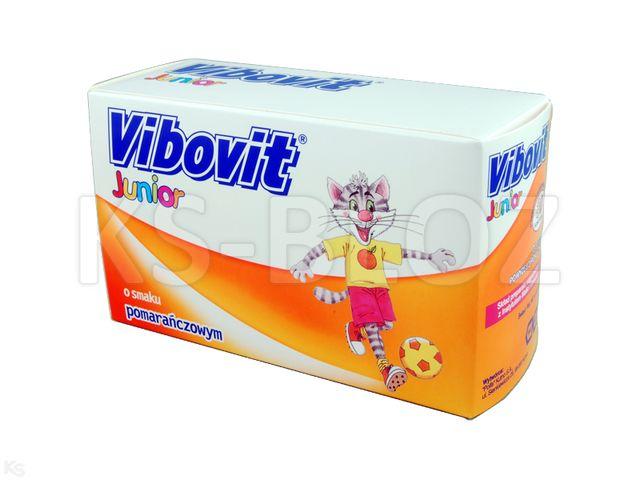 Vibovit Junior pomarańcz. interakcje ulotka proszek do sporządzania roztworu 2 g 30 sasz.