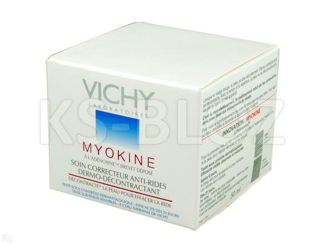 VICHY MYOKINE Krem koryg./zmar.c.norm/miesz. interakcje ulotka   50 ml