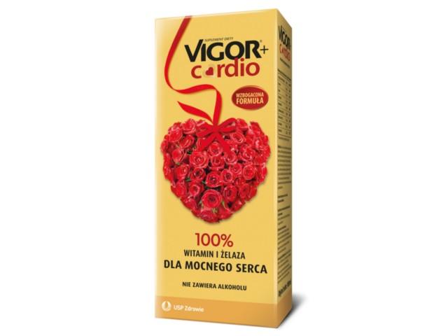 VIGOR+ CARDIO interakcje ulotka   1000 ml