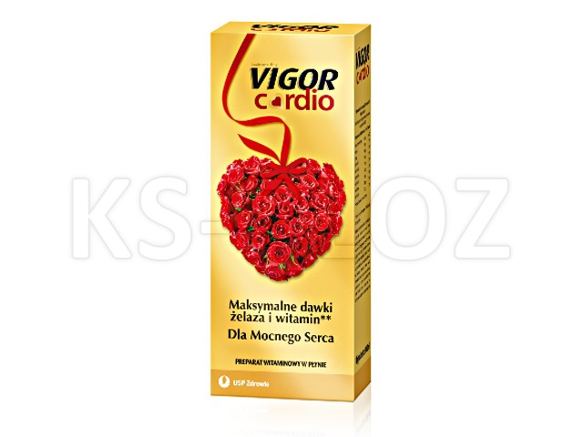 Vigor Cardio interakcje ulotka płyn doustny  1000 ml