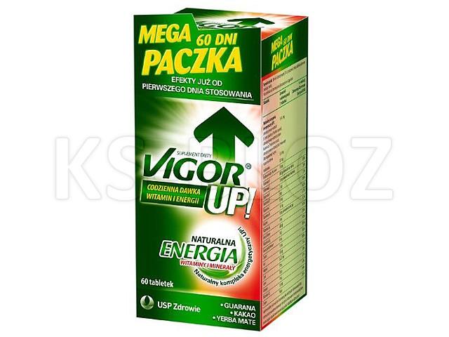 Vigor UP! interakcje ulotka tabletki  60 tabl.
