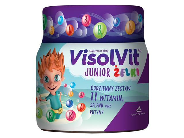 Visolvit Junior Żelki interakcje ulotka   50 szt.