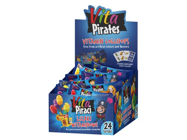 Vita Piraci lizaki witaminowe interakcje ulotka lizaki  24 szt. | display
