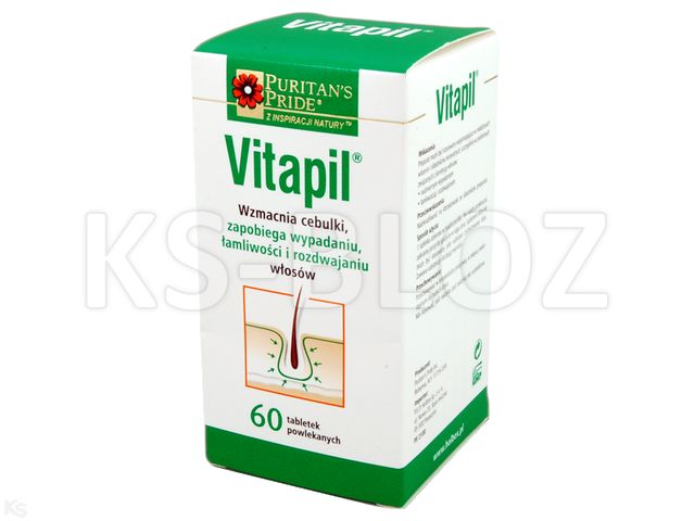 Vitapil interakcje ulotka tabletki powlekane  60 tabl.