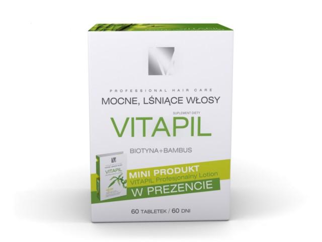 Vitapil promocja interakcje ulotka tabletki  60 tabl.