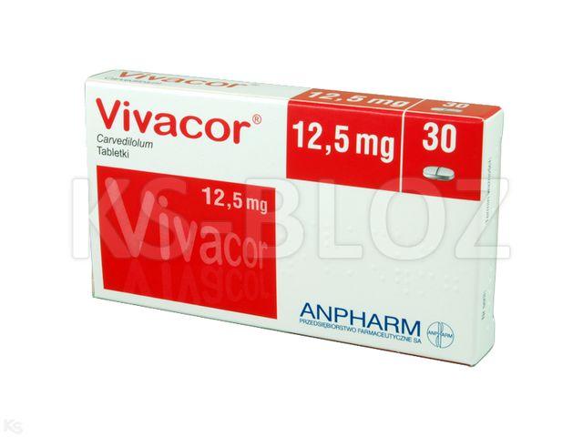 Vivacor interakcje ulotka tabletki 0,0125 g 30 tabl.