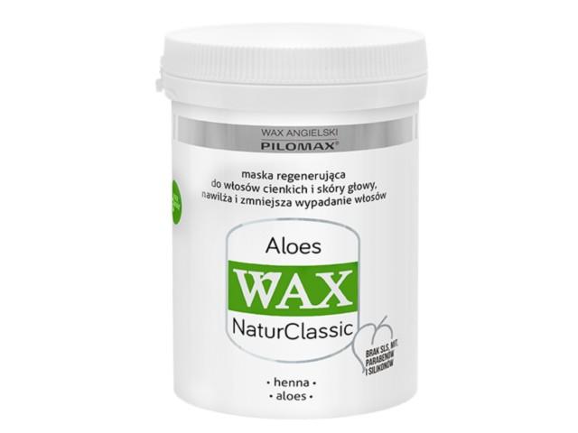WAX ang Pilomax Maska Aloes wł. cienkie NaturClassic interakcje ulotka   480 ml