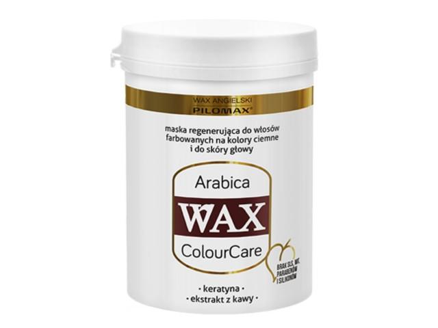 WAX ang Pilomax Maska Arabica wł.ciemne farb. ColourCare interakcje ulotka   480 g